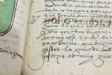 Sometimes one of the users would draw a little hand (called a manicule) to point at important passages!