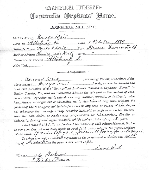 Weil_George_Concordia_agreement
