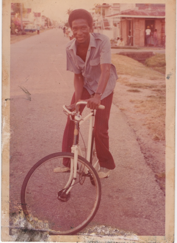 As a young man in Guyana