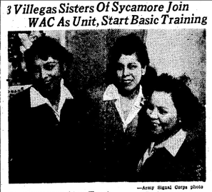 Three sisters join the WAC together
