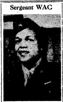 WAC Mattie Jackson military portrait