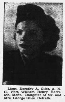 ANC Dorothy Giles military portrait