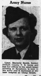 ANC Marjorie Smith military portrait