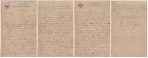 Letter dated 17 December 1918 from Glenn to his mother