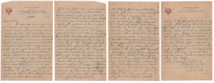 Letter dated 16 January 1919 from Glenn to his mother