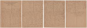 Letter dated 31 January 1919 from Glenn Kaiser to his sister