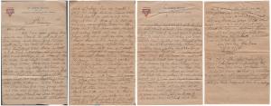 Letter dated 19 February 1919 from Glenn Kaiser to his mother