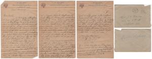 Letter from Glenn Kaiser to his mother, Feb. 23, 1919